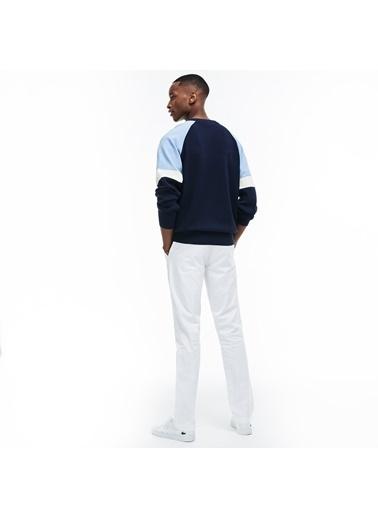 Lacoste Erkek Slim Fit Pantolon HH9553.001 Beyaz